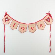 Love Banner Wall Décor
