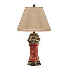 "Filigree Sunburst 28"" H Table Lamp with Empire Shade"