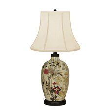 Floral Birds Table Lamp