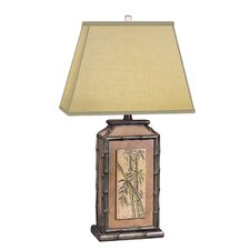 """Paradise 29"""" H Table Lamp with Square Shade"""