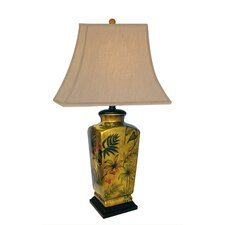 """Majestic 29"""" H Table Lamp with Square Shade"""