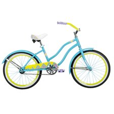 "Girl's 20"" Good Vibrations Cruiser Bike"