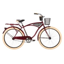 "Men's Deluxe 26"" Classis Cruiser Bike"
