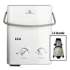 1.5 GPM Tankless Liquid Propane Portable Water Heater with Flojet Pump