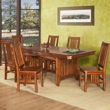 Arts and Crafts Pasadena Extendable Dining Table