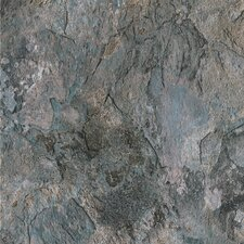 "DuraCeramic Sierra Slate 16"" x 16"" x 4.06mm Luxury Vinyl Tile in Blue Slate"