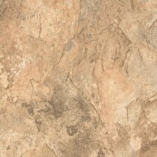 """DuraCeramic Sierra Slate 16"""" x 16"""" x 4.06mm Luxury Vinyl Tile in Bleached Clay"""