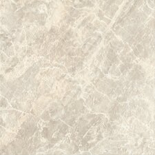 "DuraCeramic Pacific Marble 16"" x 16"" x 4.06mm Luxury Vinyl Tile in Light Greige"