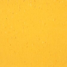 "Alternatives 12"" x 12"" x 3.18mm Luxury Vinyl Tile in Brilliant Yellow"