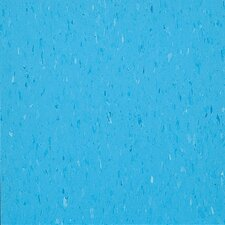 "Alternatives 12"" x 12"" x 3.18mm Luxury Vinyl Tile in Cloud Blue"