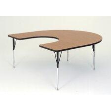 "66"" x 60"" Horseshoe Classroom Table"