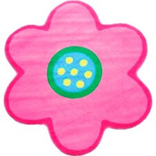 Fun Time Shape Poppy Light Pink Kids Area Rug