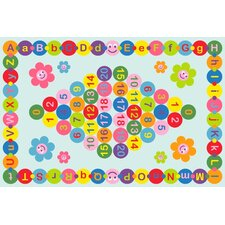 Fun Time Happy Learning Area Rug