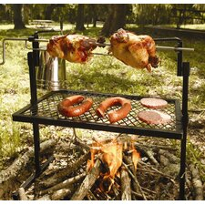Rotisserie Grill and Spit