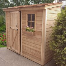 SpaceSaver 9 Ft. W x 5 Ft. D Wood Lean-To Shed