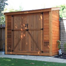 SpaceSaver 8.5 Ft. W x 4.5 Ft. D Wood Lean-To Shed