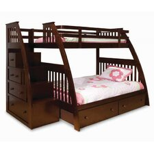 Ridgeline Twin Over Full Slat Customizable Bedroom Set