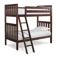 Lakecrest Twin Over Twin Bunk Bed