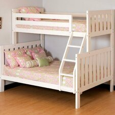 Alpine II Twin Over Full Slat Customizable Bedroom Set