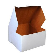 """4"""" x 7"""" Tuck-Top Bakery Boxes in White (Set of 2)"""