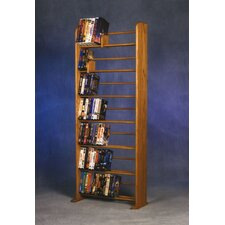 700 Series 280 DVD Dowel Multimedia Storage Rack