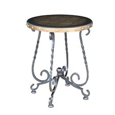 Chambery Iron Base End Table