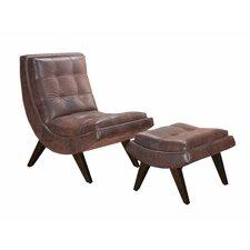 Winmark Gail's Slipper Chair and Ottoman