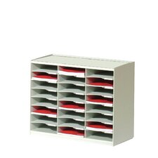 Master Literature Organizers with 24 Compartments