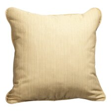 Corded Dupione Outdoor Sunbrella Throw Pillow (Set of 2)