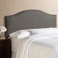 Humble + Haute Berlin 100% Linen Arched Upholstered Headboard