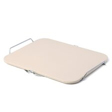 Rectangle Pizza Stone with Wire Frame
