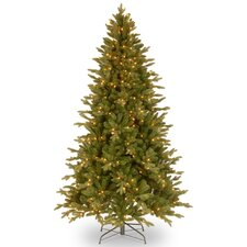 Avalon 7.5' Green Spruce Artificial Christmas Tree with 500 Clear Lights and Stand