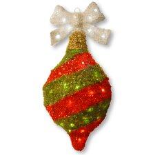Decorative Décor Tinsel Ornament Ball Christmas Decoration