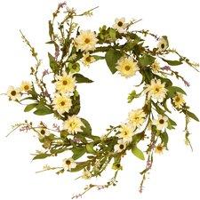 Floral Wreath with Daisy