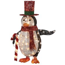 Penguin with LED Lights Christmas Decoration