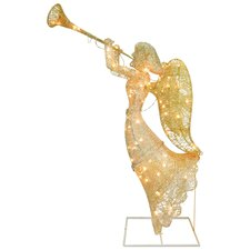 Angel with Clear Lights Christmas Decoration