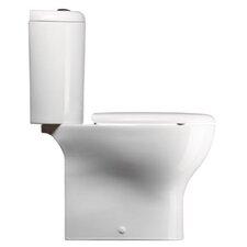 City Contemporary Ceramic Round 2 Piece Toilet
