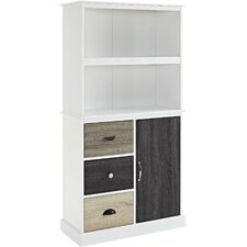 "Storage 57.09"" Standard Bookcase"