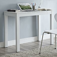 Parsons Writing Desk with Chevron Pattern