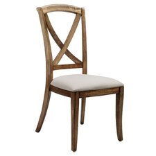 Mustique Solid Mango Upholstered Dining Chair