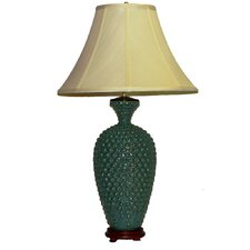 "32"" H Table Lamp with Bell Shade"