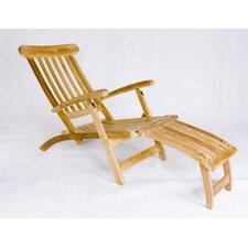 Teak Steamer Lounge Chair