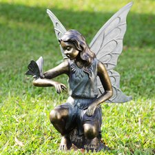 Fairy and Butterfly Grace Garden Statue