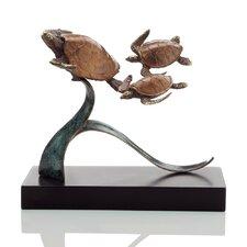 Turtle Steady Swimmers Trio Figurine