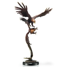 Double Flying Eagles Figurine