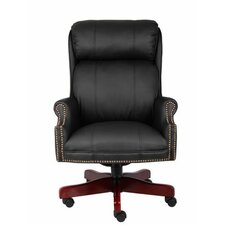 Adjustable High-Back Executive Chair
