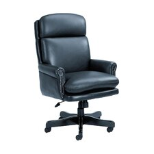 Traditional High Back Leather Executive Chair