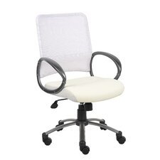 Mid-Back Mesh Office Chair with Loop Arms