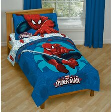 Spiderman Regulator Toddler Bedding Set