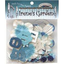 Irene's Garden Potpourri Paper Flower and Embellishment Pack (Set of 90)